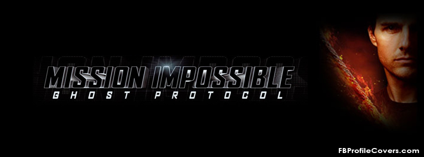mission impossible 4 Facebook timeline cover