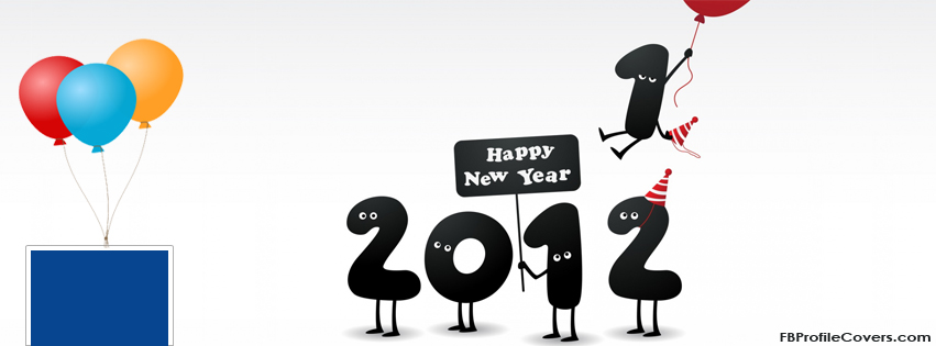 new year 2012 timeline cover photo