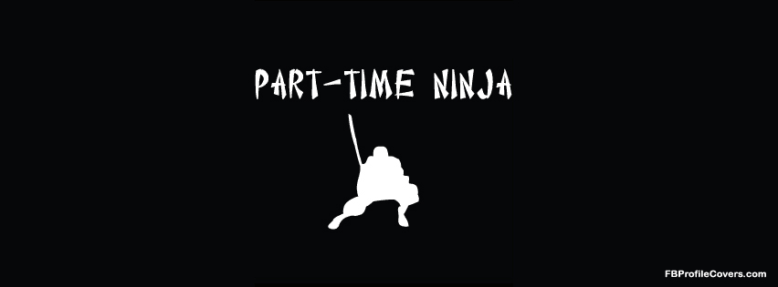 part time ninja facebook timeline profile cover