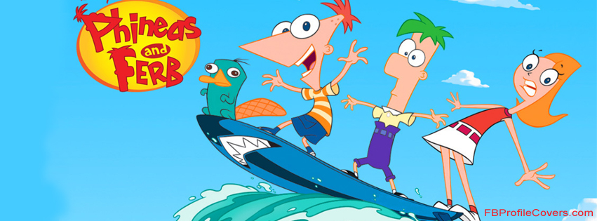 phineas and ferb facebook timeline cover