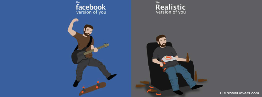 real version of you facebook timeline cover