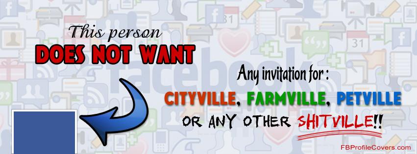 Shitville Facebook timeline profile cover