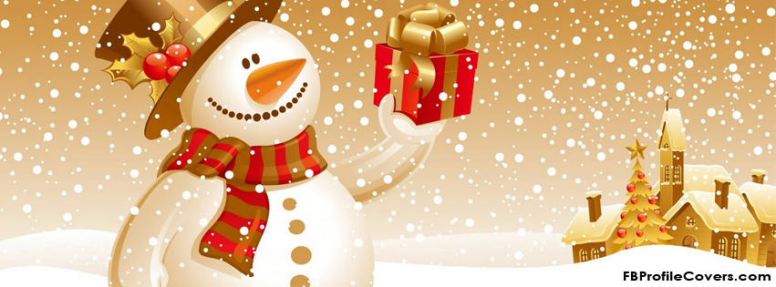 snowman christmas timeline cover