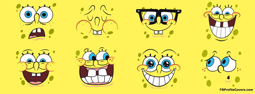 spongebob facebook profile cover, fb timeline covers