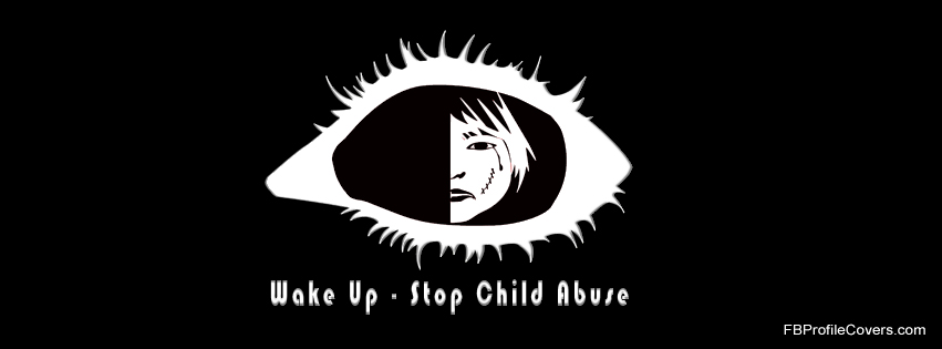 Stop Child Abuse Facebook Cover
