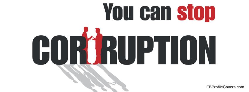 Stop Corruption Facebook Timeline Cover