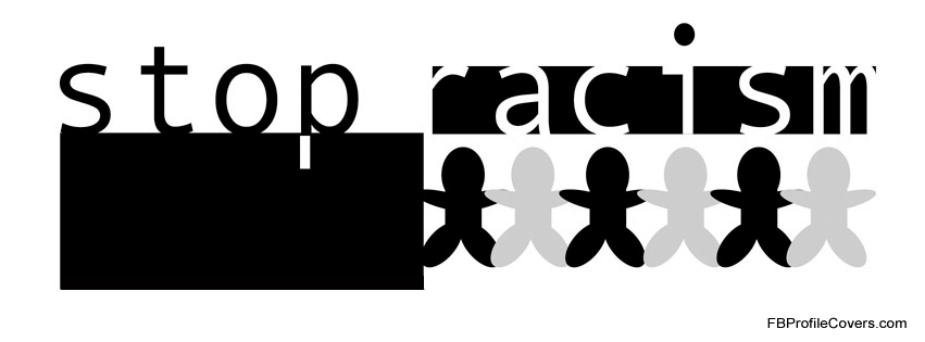stop racism facebook timeline cover photo