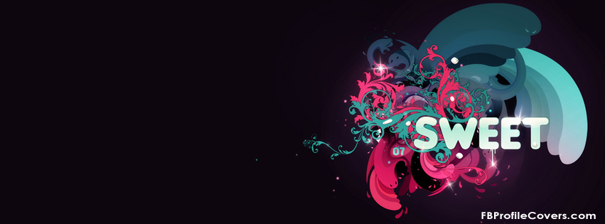 Sweet Abstract Facebook Timeline Cover