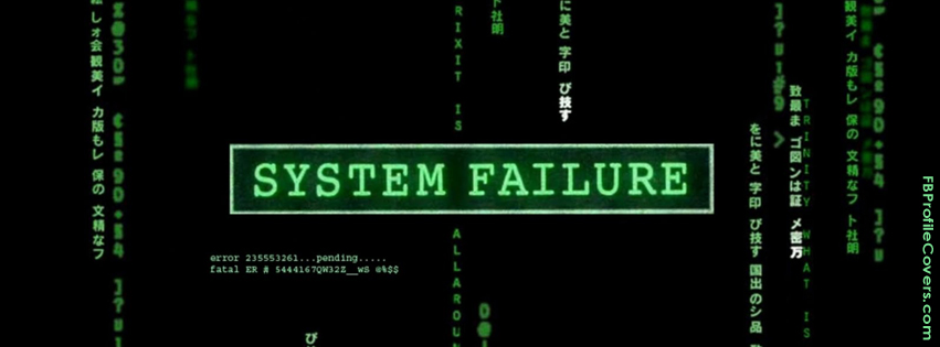 System Failure Facebook Timeline Cover