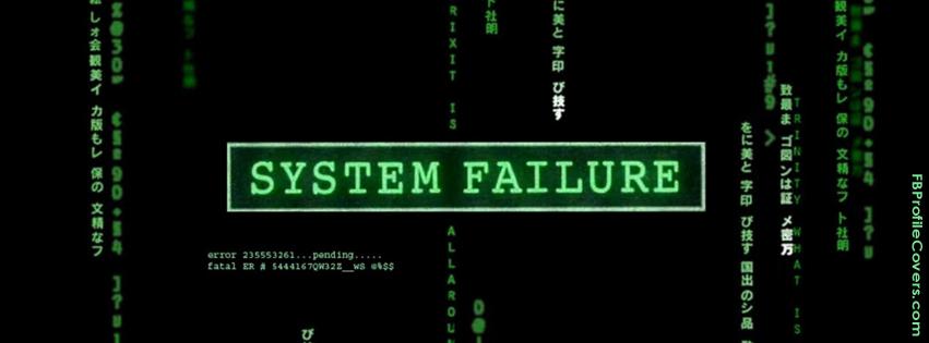 System Failure Facebook Timeline Cover