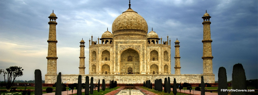 taj mahal fb cover facebook timeline cover of Taj Mahal in India