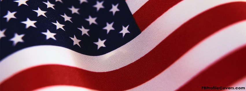 USA American flag facebook timeline cover
